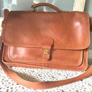 Coach Brown Metro Vintage Briefcase Attaché 5180